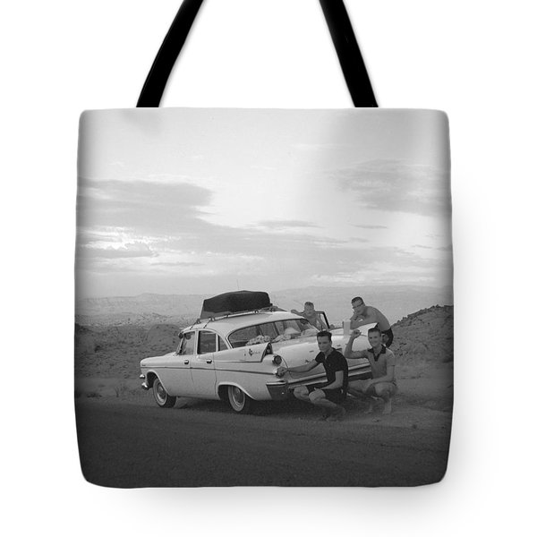 Tail Fins Tote Bag by Kerry Beverly
