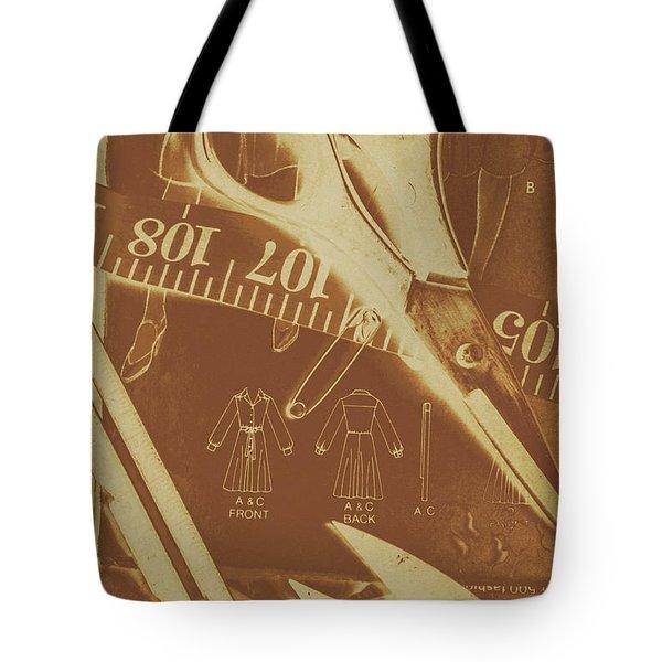 Tailor Art Tote Bag