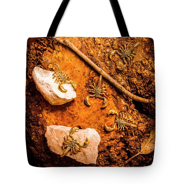 Tails From Ancient Egypt Tote Bag