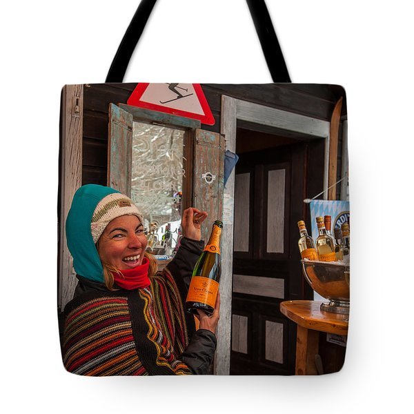 Taimi In Zermatt Switzerland Tote Bag