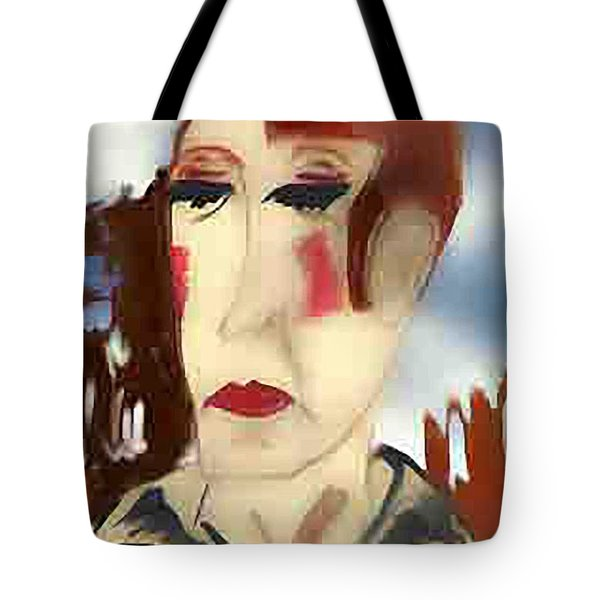 Tainted Glass Tote Bag
