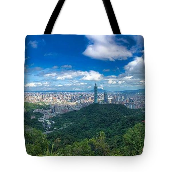 Taipei Panorama Tote Bag