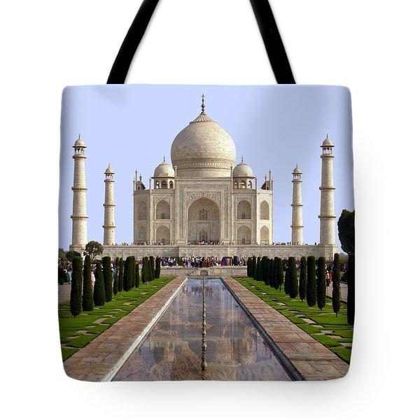 The Taj Mahal - Grand Canyon Mash-up Tote Bag