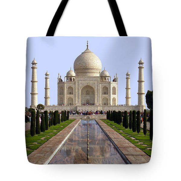The Taj Mahal - Grand Canyon Mash-up Tote Bag