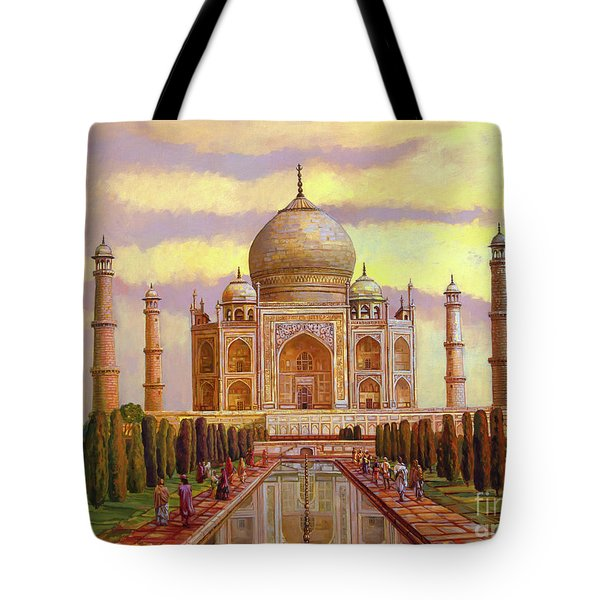 Taj Mahal Tote Bag by Dominique Amendola