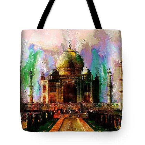 Taj Mehal 009 Tote Bag