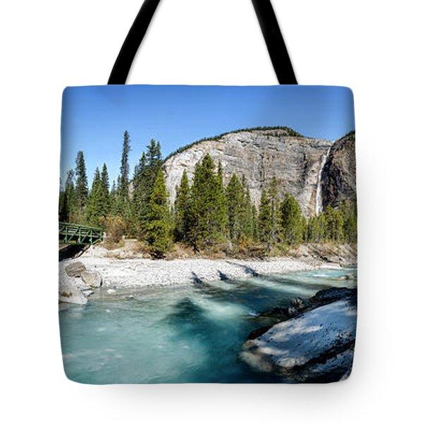 Takakkaw Falls Tote Bag