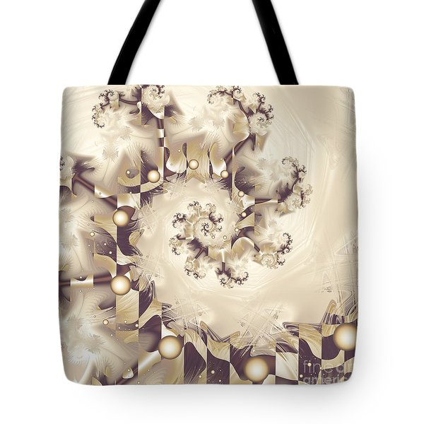 Tote Bag featuring the digital art Take A Bow by Michelle H