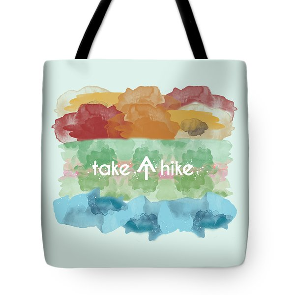 Take A Hike Appalachian Trail Tote Bag