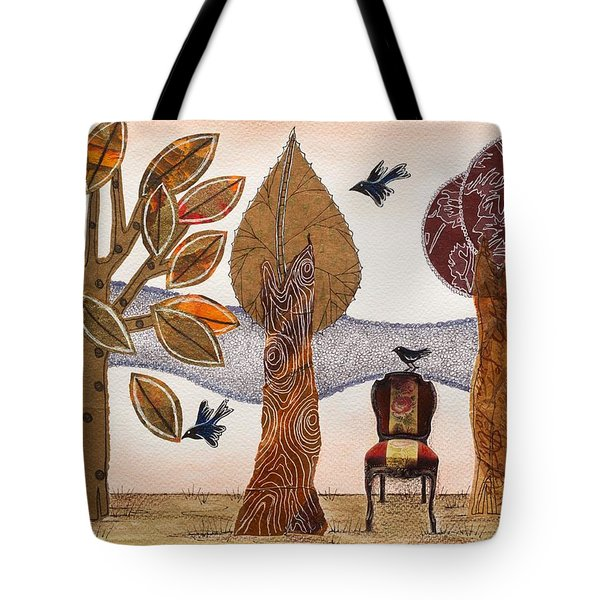 Take A Rest In Autumn Tote Bag
