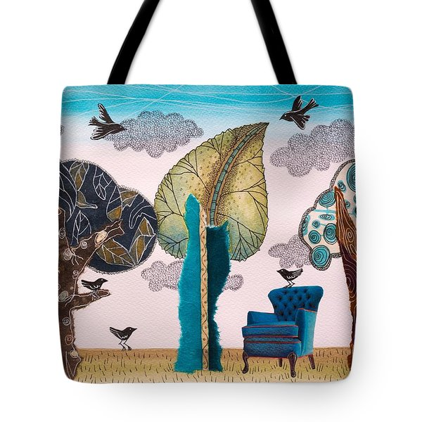 Take A Rest In Spring Tote Bag