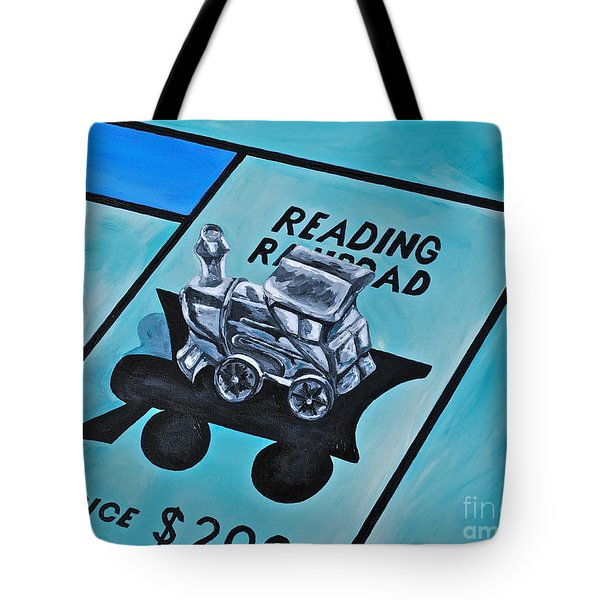 Take A Ride On The Reading  Tote Bag by Herschel Fall