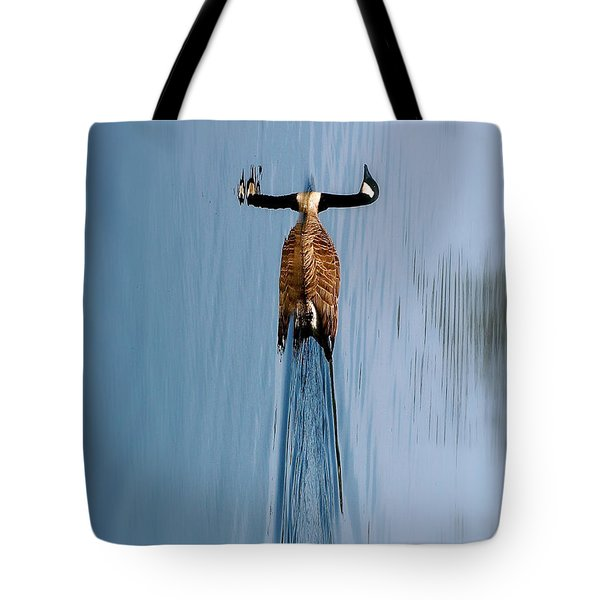Take A Second Gander Tote Bag by Sue Stefanowicz