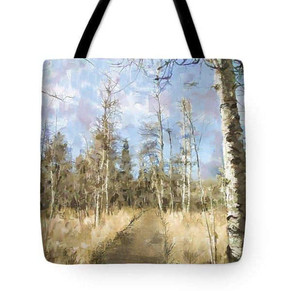 Take A Walk Tote Bag by Annette Berglund