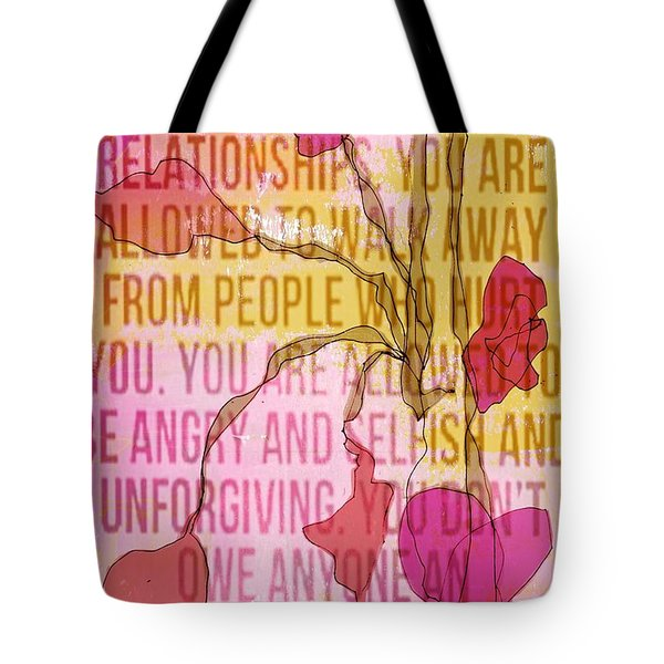 Take Care Of Yourself Tote Bag