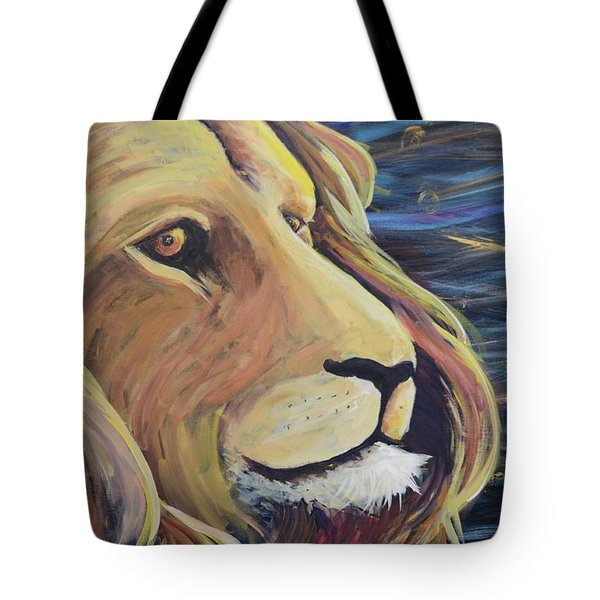 Take Courage Tote Bag