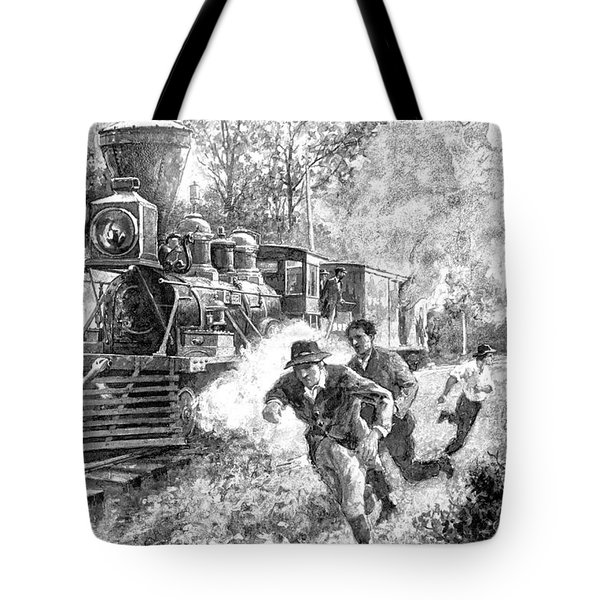 Take Cover Tote Bag by Dennis Baswell