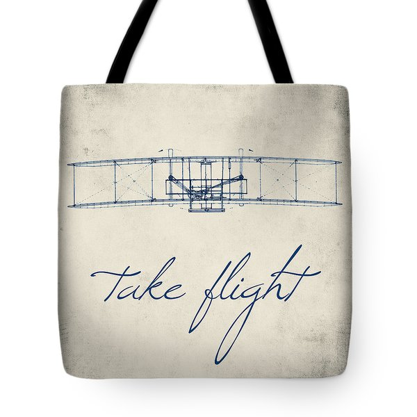Take Flight Tote Bag by Brandi Fitzgerald
