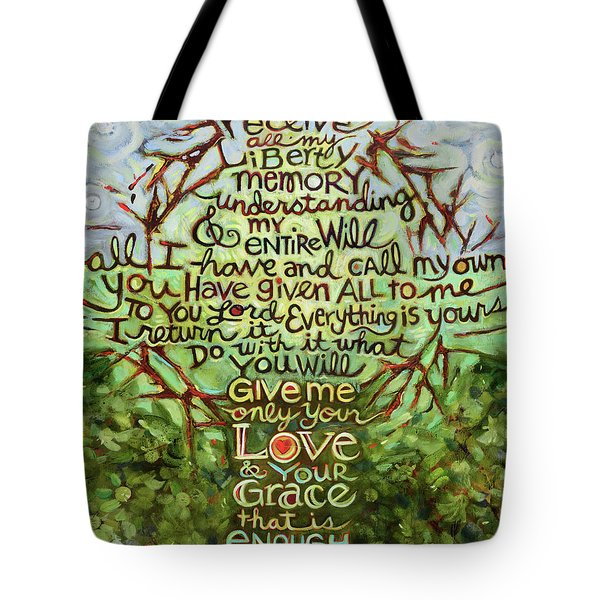 Take Lord, Receive Tote Bag