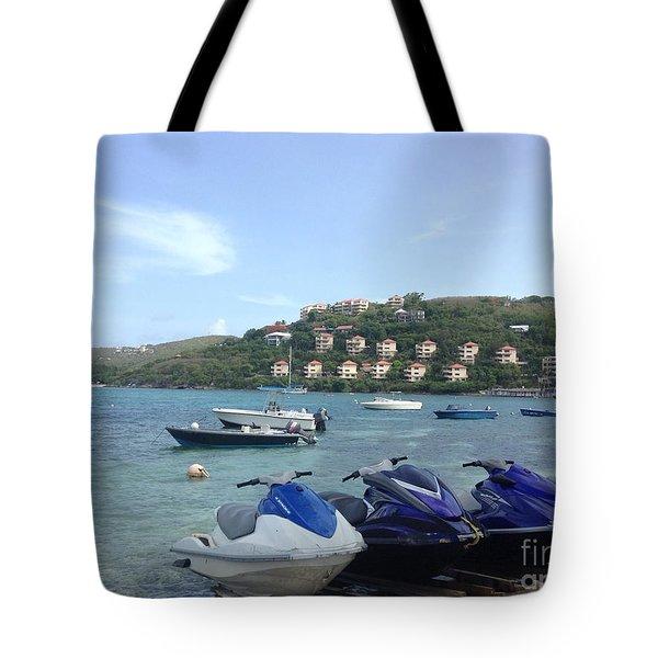 Take Me For A Ride Tote Bag
