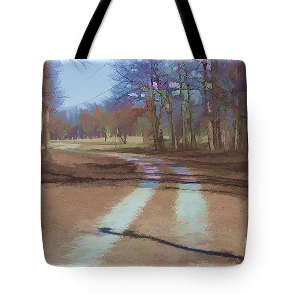 Take Me Home Country Road Tote Bag