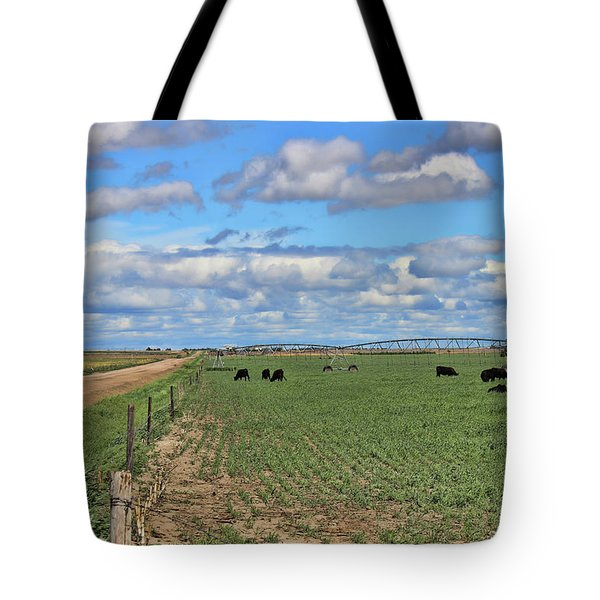 Take Me Home Country Roads Tote Bag by Sylvia Thornton