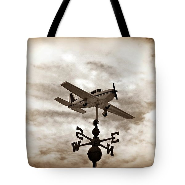 Take Me To The Pilot Tote Bag by Bill Cannon