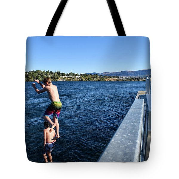 Take Our Picture 3 Tote Bag
