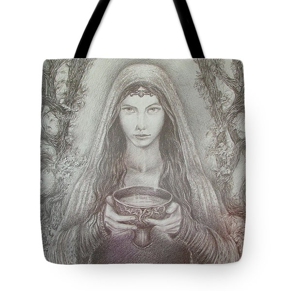 Take A Bowl Of Your Happiness Tote Bag by Rita Fetisov