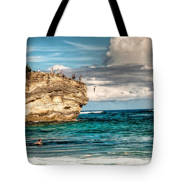 Take The Plunge Tote Bag