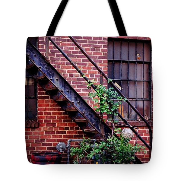 Take The Stairs Tote Bag