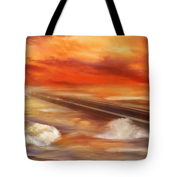 Take The Weather With You Tote Bag by Iryna Goodall