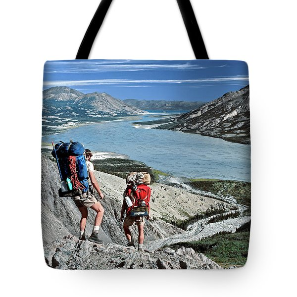 Take This View And Love It Tote Bag