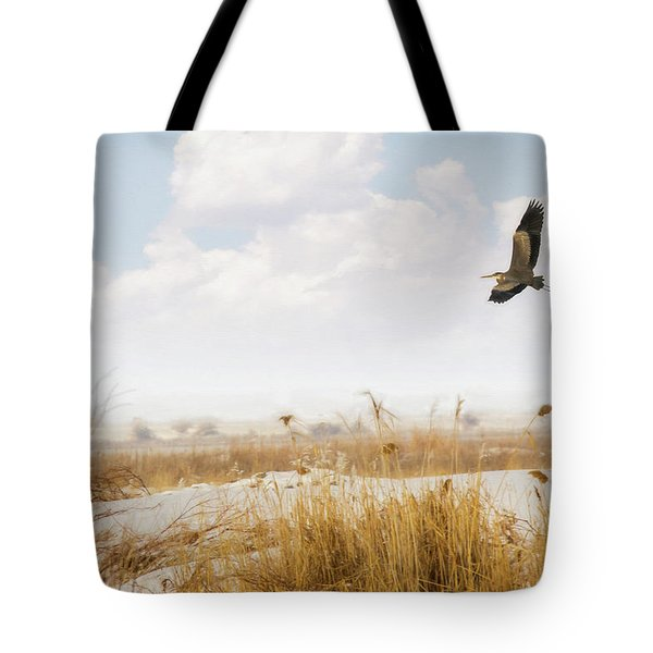 Takeoff Tote Bag by Priscilla Burgers