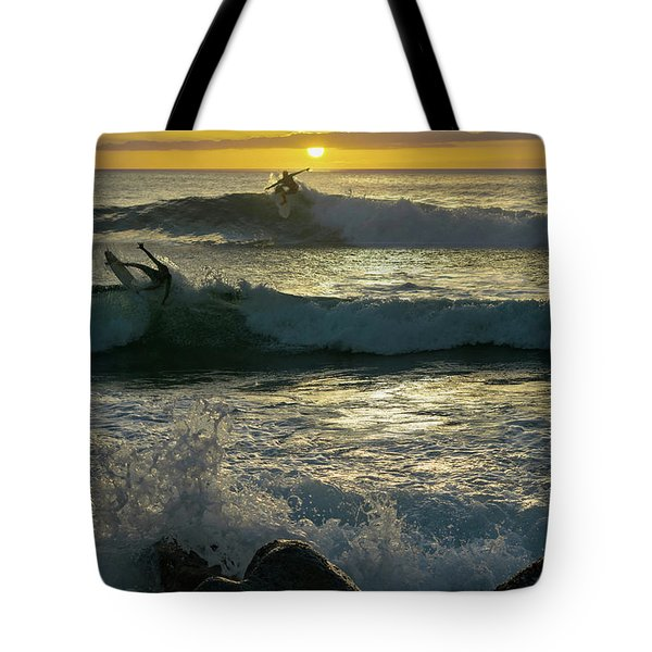 Takes Two To Surf Tote Bag