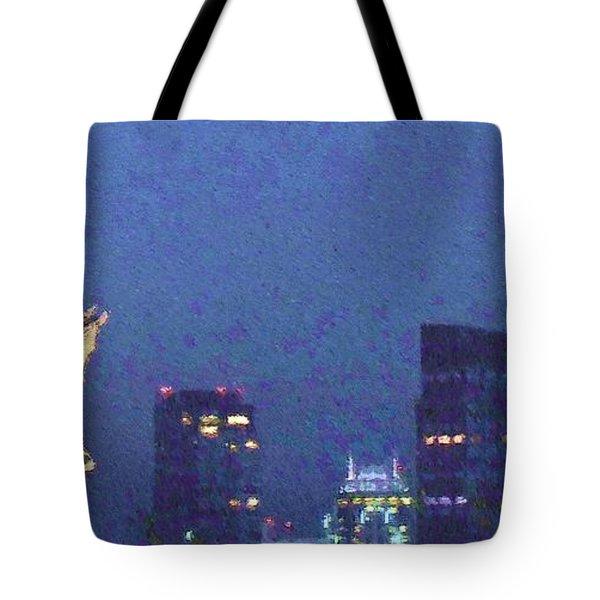 Takin' On Boston Tote Bag