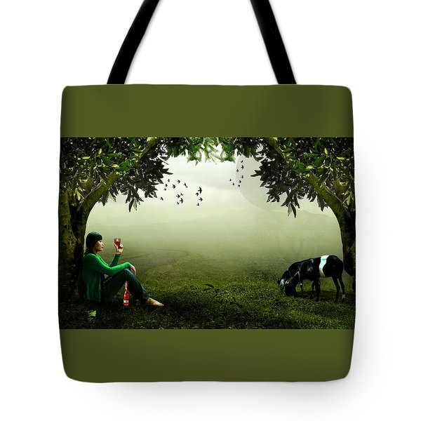Taking A Break Tote Bag by Ericamaxine Price