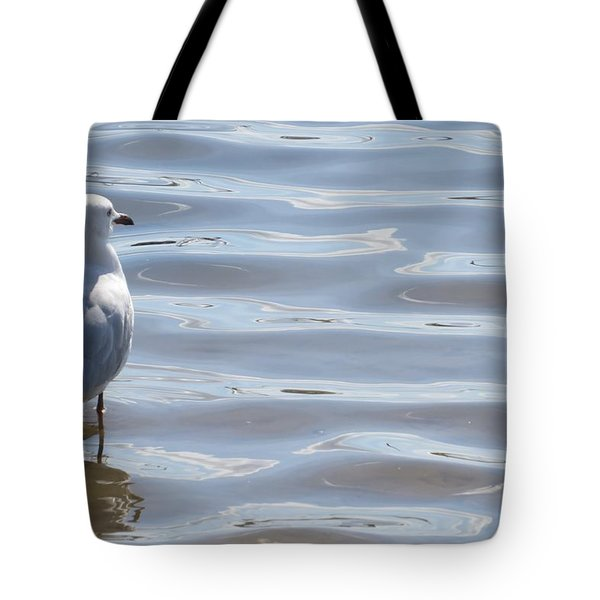 Taking A Dip Tote Bag