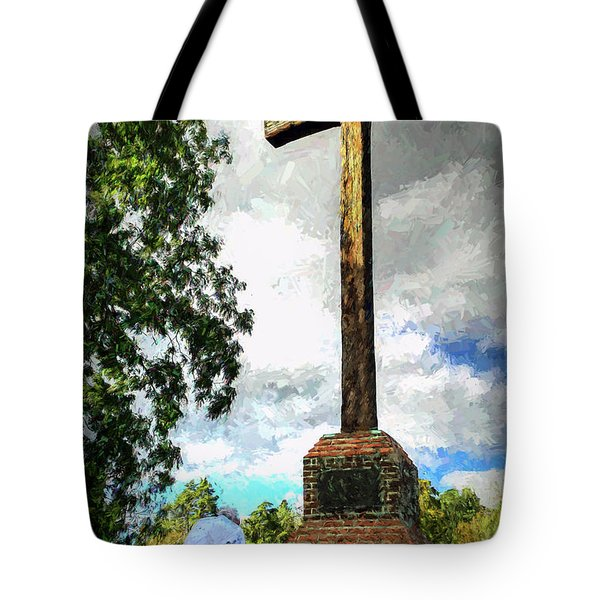 Taking A Knee Where It Matters Tote Bag