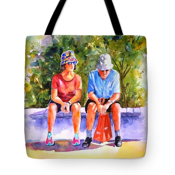 Taking A Rest - 2 Tote Bag