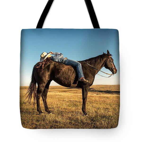Taking A Snooze Tote Bag