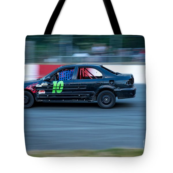 Taking A Turn Tote Bag