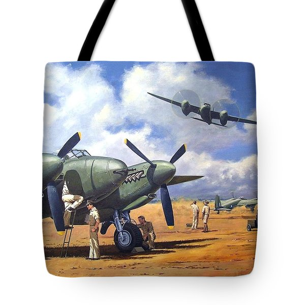'taking Delivery - Mosquito' Tote Bag