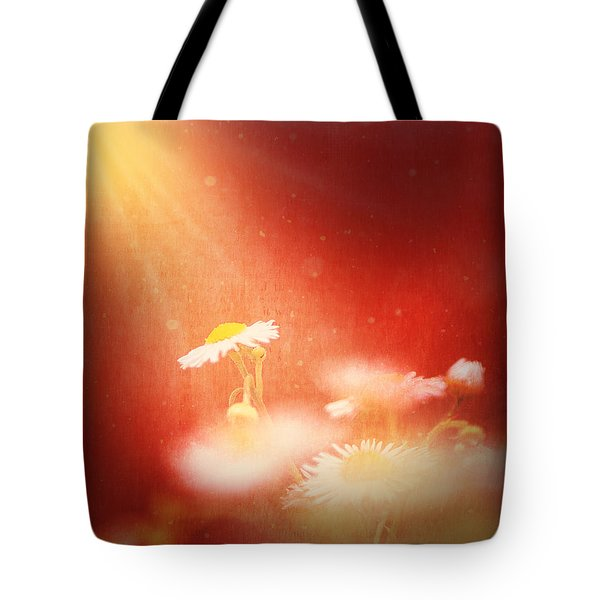 Tote Bag featuring the photograph Taking In The Light by Greg Collins