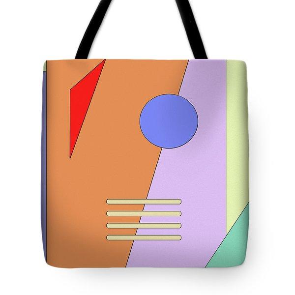 Taking Shape Tote Bag by Richard Rizzo