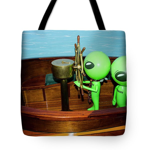 Taking The Helm Tote Bag