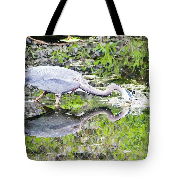 Taking The Plunge Tote Bag