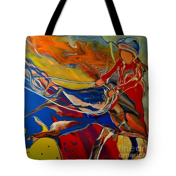 Taking The Reins Tote Bag