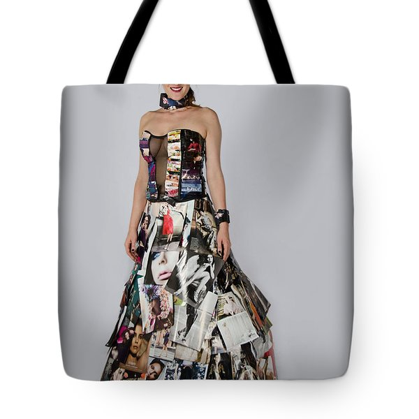 Megan In Gown Tote Bag