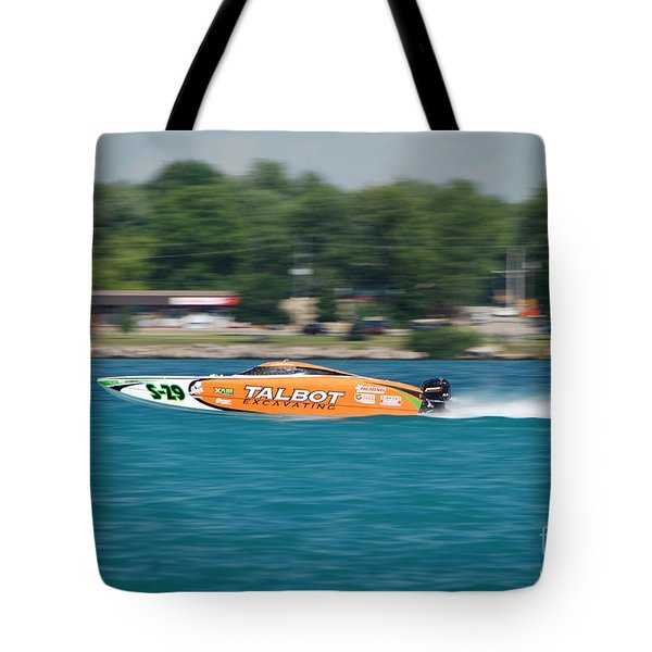 Talbot Offshore Racing Tote Bag